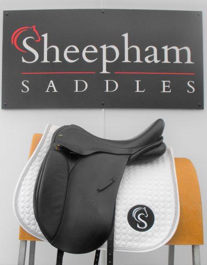 Ideal Jessica Dressage Saddle 18″ M-MW Black – #SC919# Ideal