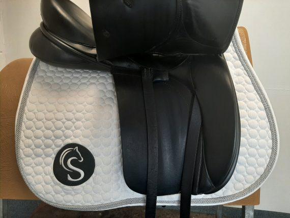 Origin Dressage Saddle 17.5″ W Black – #SC1315# Origin