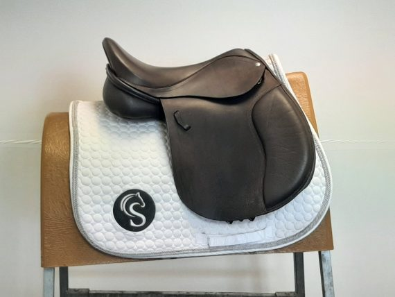 Loxley by Bliss Pony GP Saddle 16″ W Fit Adjustable Brown – #SC1328#