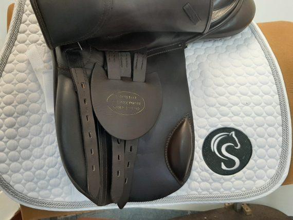 Heritage GP/VSD Saddle 17.5″ W Brown – #SC1323#