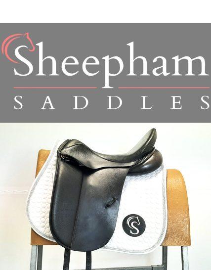 Optimum Performance Dressage Saddle 17.5″ W Black – #SC1260#