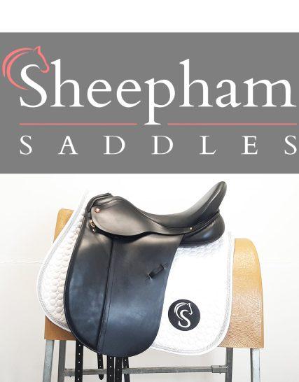 Albion Adjusta SLK Dressage Saddle 17.5″ M Black – #SC1302# Albion Saddles