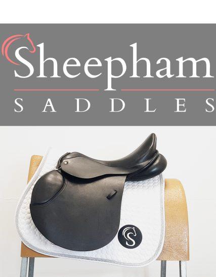 Ideal Jump Saddle 17.5″ W Black – #SC1297#