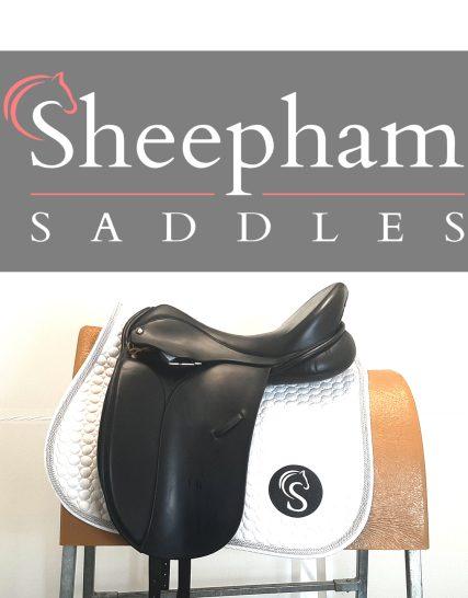 Origin Dressage Saddle 17.5″ W Black – #SC1315#