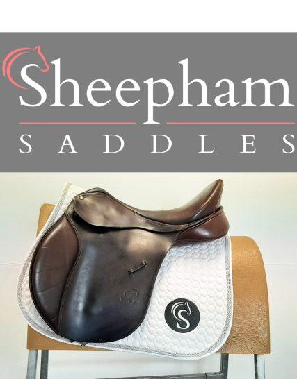 Bates Caprilli GP Saddle 18″ Adjustable Brown – #SC1279#