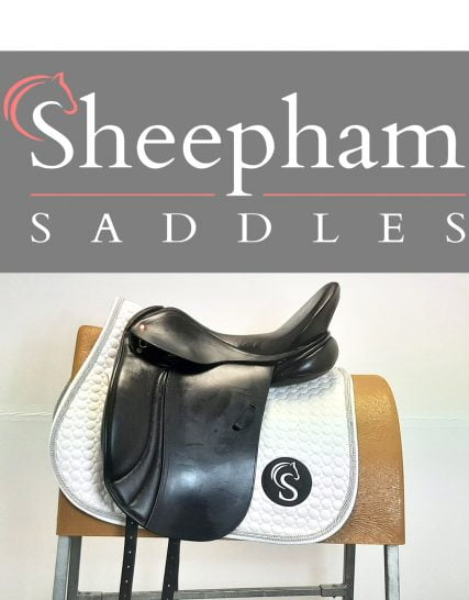Albion K2 Adjusta Dressage Saddle 17.5″ MW Black – #SC1250# Albion Saddles