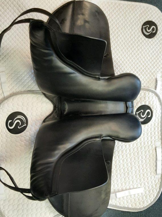 Ideal Roella Dressage Saddle 17″ W Black – #SC1340# Ideal