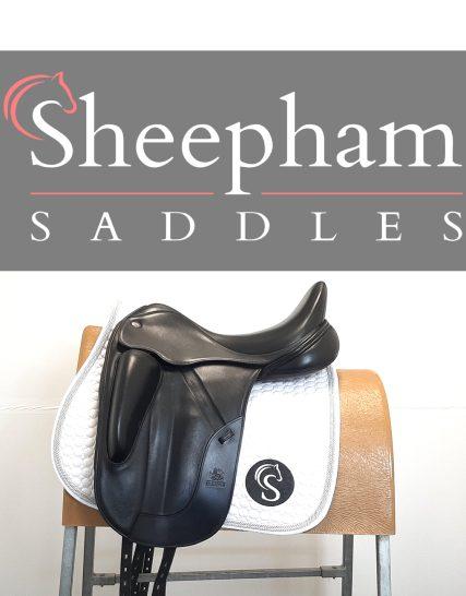 Fairfax Gareth Dressage Saddle 18″ Adjustable Black – #SC1346# Fairfax