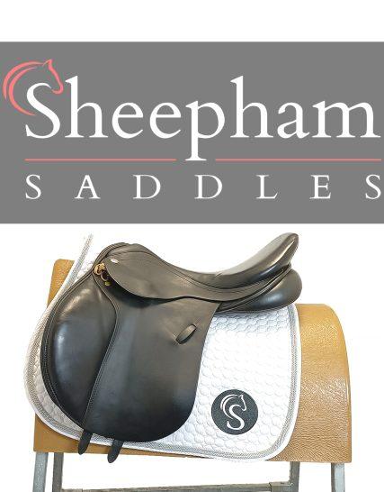 Harry Dabbs GP Saddle 17″ W Brown – #SC1390#